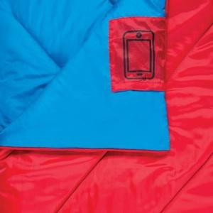 Śpiwór worek koc Spokey MUFF II czerwony, Spokey