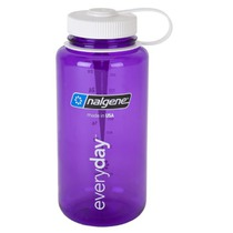 Butla Nalgene Szeroki Mouth 1l 2178-2028 purple white, Nalgene