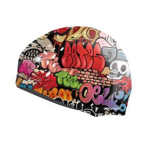 Pływacka czapka Spokey STYLO graffiti, Spokey
