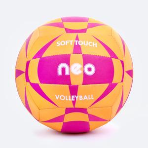 Do siatkówki piłka Spokey NEO SOFT żółto-różowy, Spokey