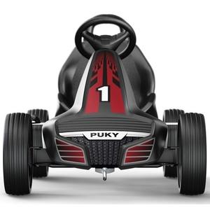 Dziecięca do pedałowania pojazd PUKY Go Cart Air F 550 czarny / czerwony 3530, Puky