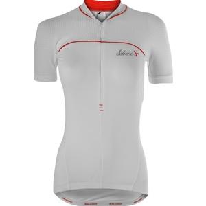 Damski rowerowy bluza Silvini CATIRINA WD1002 white-red, Silvini