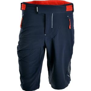 Męskie MTB spodnie Silvini TALFER MP1015 navy-orange, Silvini