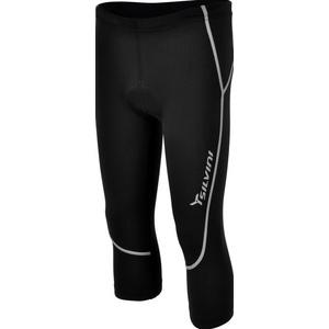 Dziecięce 3/4 rowerowe spodnie Silvini Basento CP790P black, Silvini