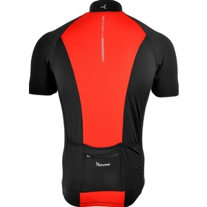 Męski rowerowy bluza Silvini PESCARA MD1025 black-red, Silvini