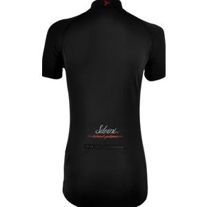 Damski rowerowy bluza Silvini GRUSO WD1026 black-red, Silvini