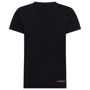 Męskie koszulka La Sportiva Logo Tee Black, La Sportiva