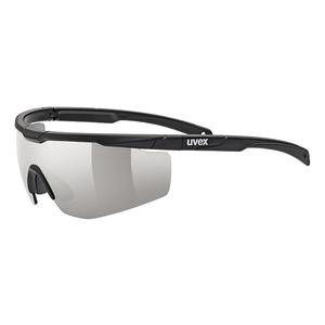 Sportowe okulary Uvex SPORTSTYLE 117 Black Mat (2216), Uvex