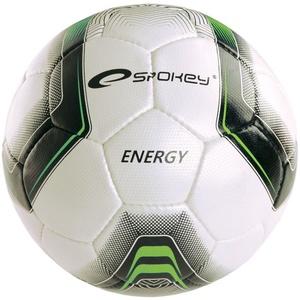 Futbolowa piłka Spokey ENERGIA biało-zielony vel.4, Spokey