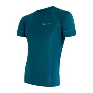 Męskie koszulka Sensor Coolmax Fresh szafir 17100003, Sensor
