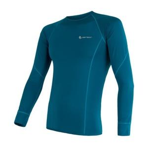Męskie koszulka Sensor Coolmax Fresh szafir 17100005, Sensor