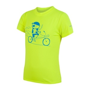 Dziecięce koszulka Sensor COOLMAX FRESH PT PIRATE reflex żółty 17100041, Sensor