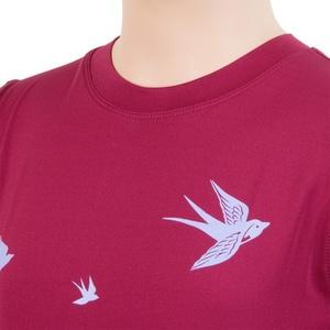 Dziecięce koszulka Sensor COOLMAX FRESH PT Swalow lilla 17100044, Sensor