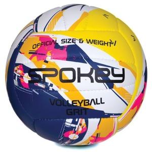 Do siatkówki piłka Spokey GRIT fioletowo-żółty č.5, Spokey