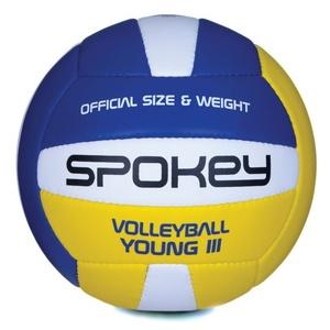 Do siatkówki piłka Spokey YOUNG III niebiesko-żółty vel.4, Spokey