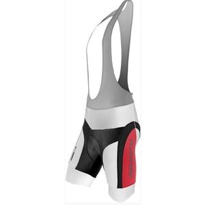 Męskie rowerowe spodnie Silvini MERRE MP605 white-red, Silvini
