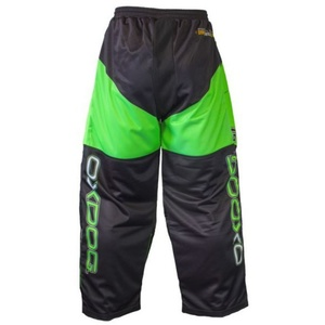 Bramkarzskie spodnie OXDOG VAPOR GOALIE PANTS black/green, Oxdog
