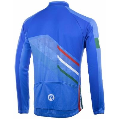 Swobodny rowerowy bluza Rogelli TEAM 2.0 z długim rękawem, niebieski 001.972, Rogelli