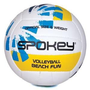 Do siatkówki piłka Spokey BEACH FUN niebiesko-biały č.5, Spokey
