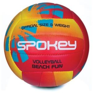 Do siatkówki piłka Spokey BEACH FUN czerwono-żółty č.5, Spokey