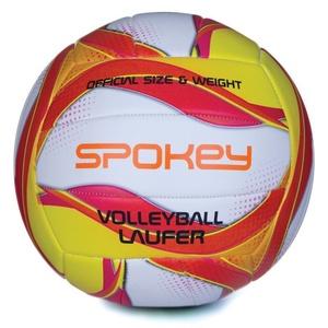 Do siatkówki piłka Spokey LAUFER biało-czerwono-żółty, Spokey