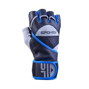 Fitness rękawice Spokey GANTLET  II czarno-niebieski, Spokey