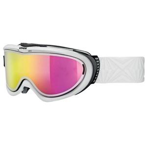Narciarskie okulary Uvex COMANCHE Wziąć od pola, biały / litemirror pink (1026), Uvex