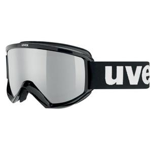 Narciarskie okulary Uvex FIRE FLASH, czarne / litemirror silver (2026), Uvex