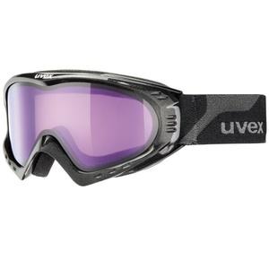 Narciarskie okulary Uvex F 2, black spełnione/ psycho (2124), Uvex