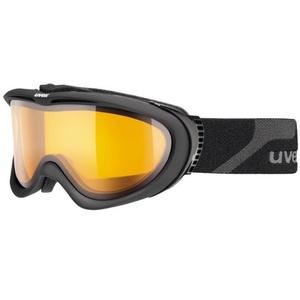 Narciarskie okulary Uvex UVEX COMANCHE, black mat / lasergold lite (4229), Uvex
