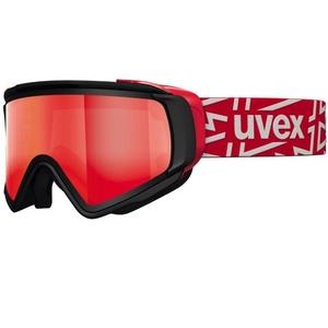 Narciarskie okulary Uvex Selfkki TAKE OFF POLA, black mat / litemirror red (2026), Uvex
