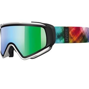 Narciarskie okulary Uvex Selfkki TAKE OFF, white mat / litemirror green (1226), Uvex