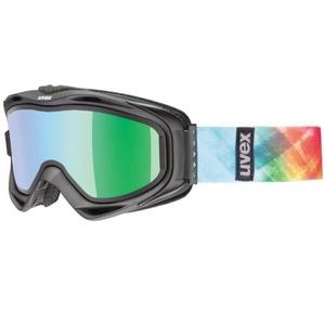 Narciarskie okulary Uvex G.GL 300 TAKE OFF, black mat / litemirror green (2126), Uvex