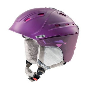 Narciarska kask UVEX P2US WL, purple/pink mat (S566178900*), Uvex