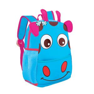 70a4933189286 Plecak Spokey neoprenowy - dla dzieci żyrafa niebieska
