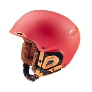 Narciarska kask UVEX UVEX Selfkki +, czerwono-pomarańczowy mat (S566182380*), Uvex