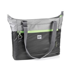 Składane torba Spokey UKRYTE LAKE szary, zielony rzep, Spokey