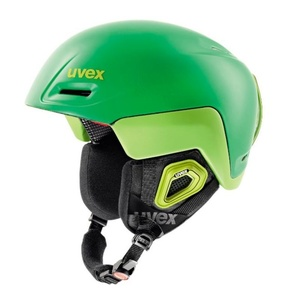 Narciarska kask UVEX Jimmy OCTO +, zielono-cytrynowy mat (S566205320*), Uvex