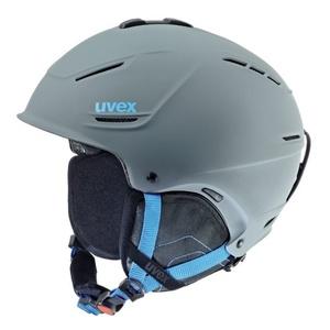 Narciarska kask UVEX P1US, grey-blue mat (S566153540*), Uvex