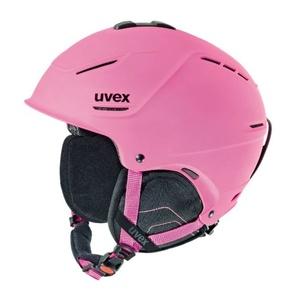 Narciarska kask UVEX P1US, pink mat (S566153910*), Uvex