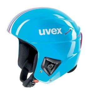 Narciarska kask UVEX RACE +, cyan-różowy (S566172400*), Uvex