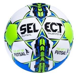 futsalowy piłka Select FB Futsal Talento  13 biało niebieska, Select