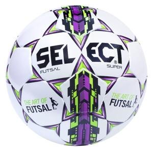 futsal piłka Select FB Futsal Super biało fioletowy, Select