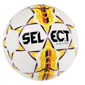 Futbolowa piłka Select FB Evolution biało żółty, Select