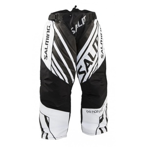 Bramkarzskie spodnie Salming Phoenix Goalie Pant JUNIOR Black / White, Salming
