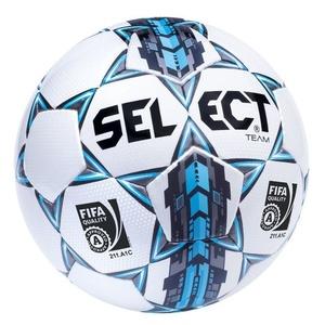 Futbolowa piłka Select FB Team FIFA biało niebieska, Select