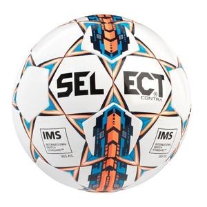 Piłka Select Contra biało pomarańczowy, Select