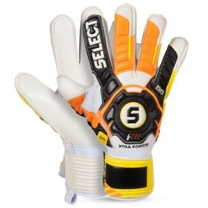 Bramkarzskie rękawice Select Goalkeeper rękawice 55 Xtra Force czarno żółty, Select