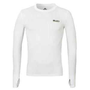 Kompresyjne koszulka Select v T-shirt L/S 6902 biała, Select