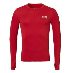 Kompresyjne koszulka Select v T-shirt L/S 6902 czerwona, Select